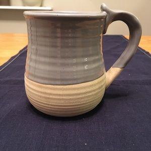 Other - Grey and Beige Pottery Mug